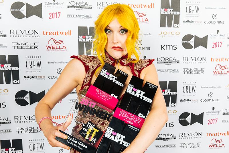 Sophia Hilton Most Wanted Awards 2017