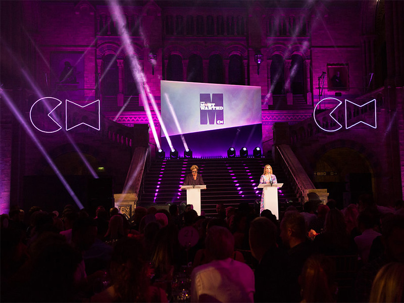 Hosts Catherine Handcock and Katherine Ryan