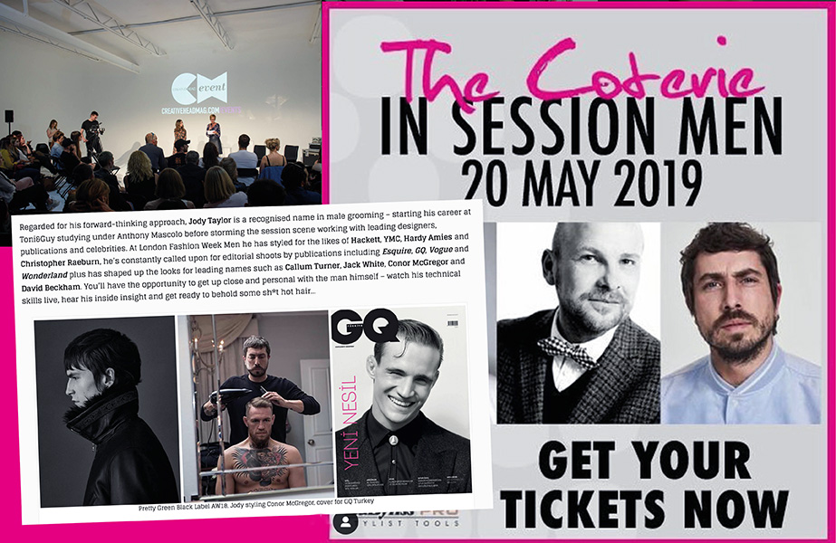 Jody Taylor to co-host The Coterie: In Session MEN