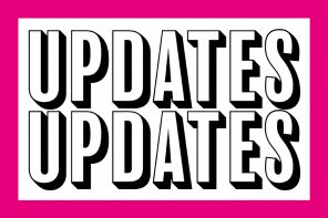 News! Updates! New Rules!
