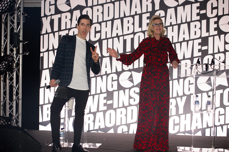 Most Wanted 2020 hosts Russell Kane and Catherine Handcock