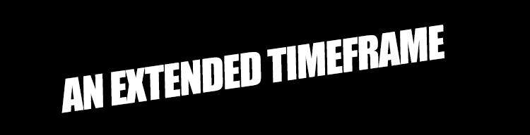 An extended timeframe