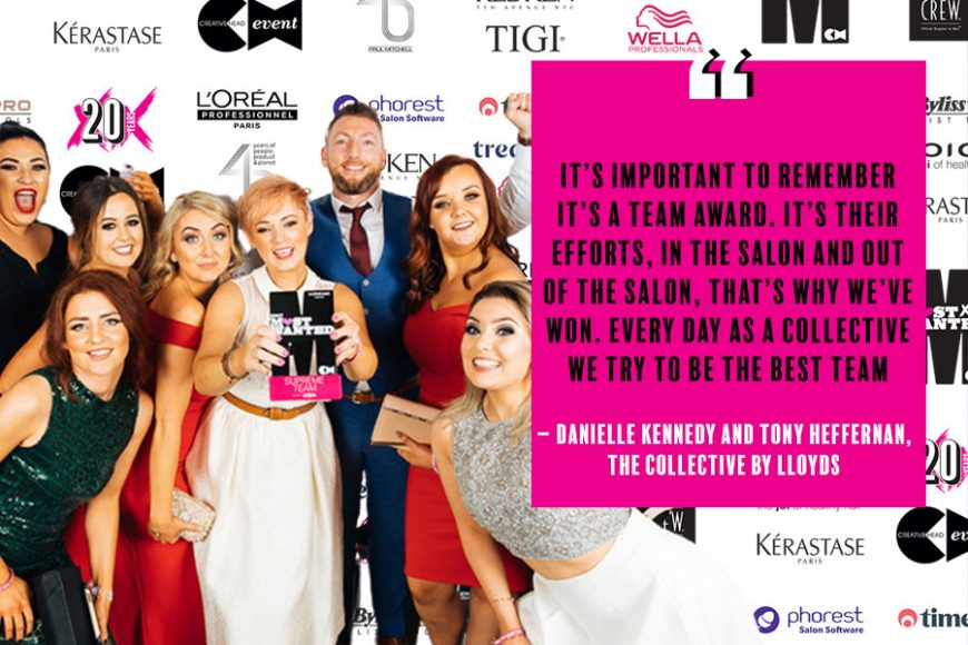 The Collective By Lloyds Most Wanted 2020 Best Salon Team Legends