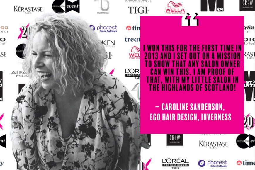 Caroline Sanderson Most Wanted 2020 Business Thinker