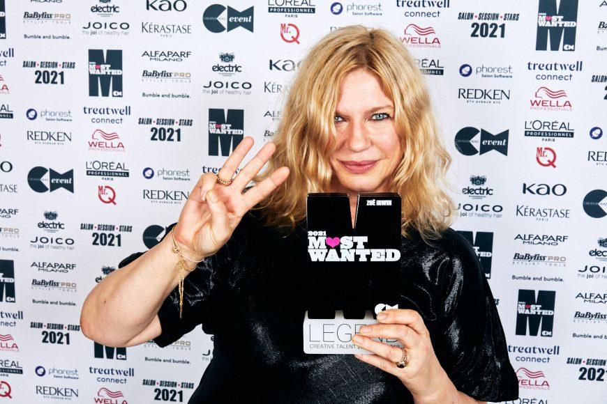 Zoe Irwin with trophy