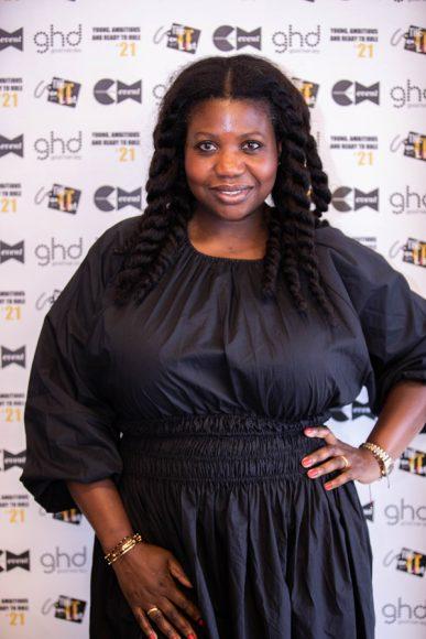 Charlotte Mensah at The It List judging day 2021