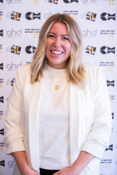 Samantha Cusick at The It List judging day 2021
