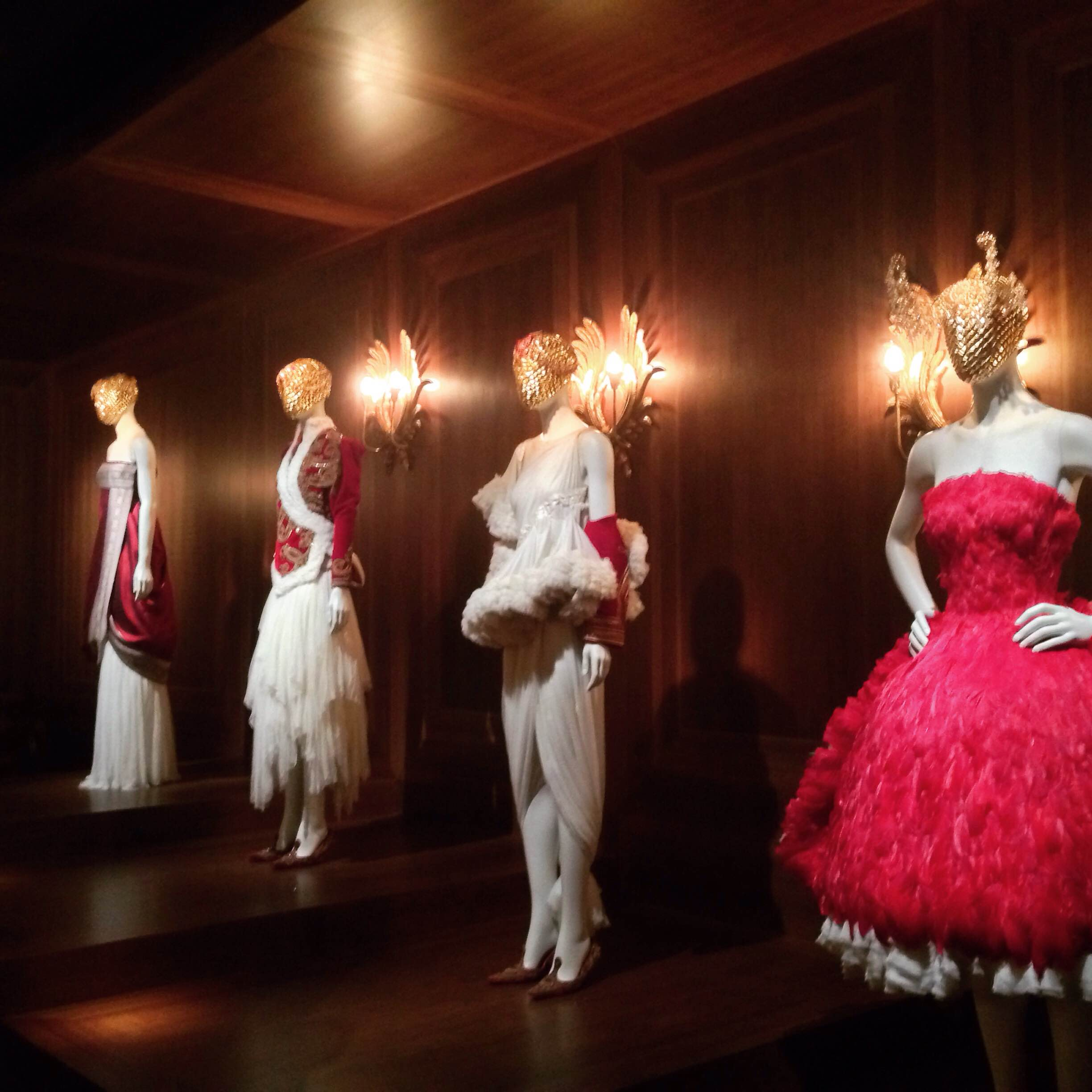 Alexander McQueen, Savage Beauty Exhibition Opens At The V