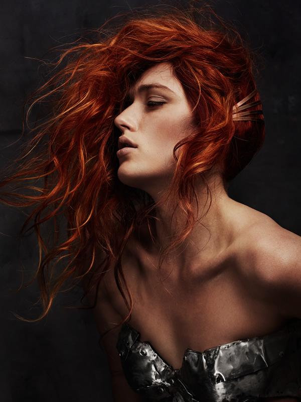 Hair: Charlene Fernandez (colour) and Scott Condon (styling) for Rokk Ebony Make-up: Sarah Baxter Styling: Brandon Photography: Elizabeth Kinnaird - RESIZED-rokkebony_CFernandez_Galvanized_15AHFA_Colour5