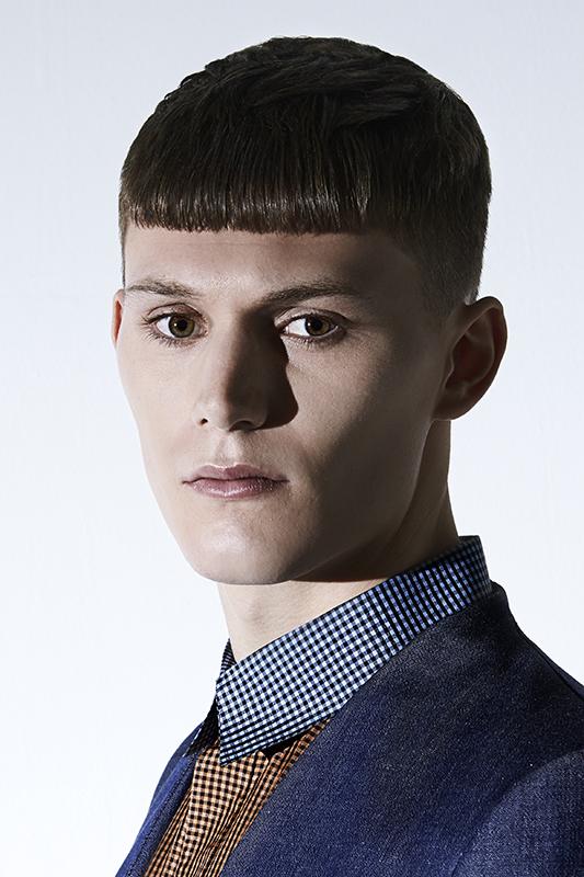 Fast Living Slick Styling Michael Kontos Of The London School Of - Undercut hairstyle london
