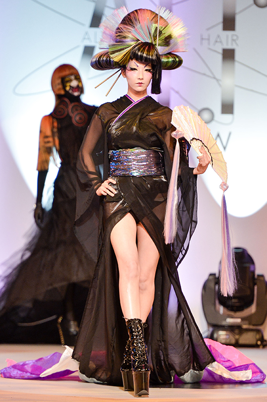Hair Expo Awards 2015 : Light fantastic the alternative hair show