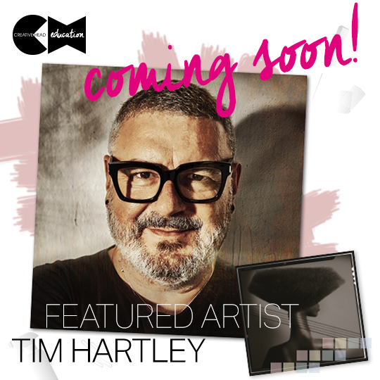 Our first featured artist on Creative HEAD Education is… Tim Hartley