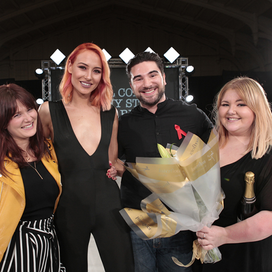Meet your South Western region L'Oréal Colour Trophy 2017 Backstage Live winners…