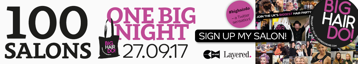 Sign up for the UK's biggest hair party The Big Hair Do