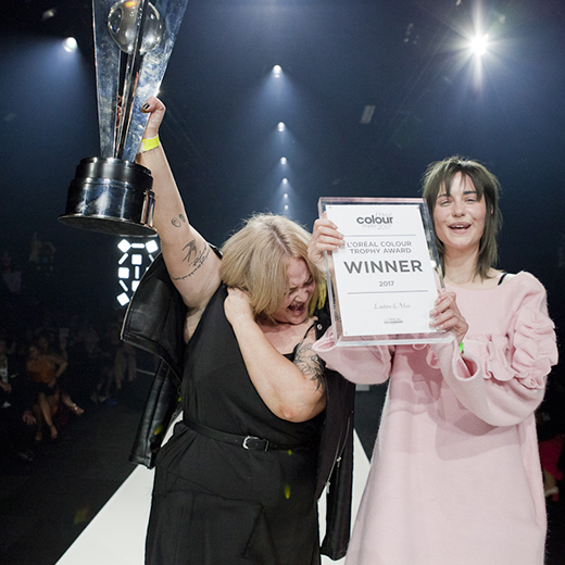 Scotland's colour queens! Linton and Mac win the L'Oréal Colour Trophy 2017