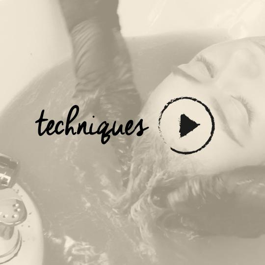 The Silk Bath technique