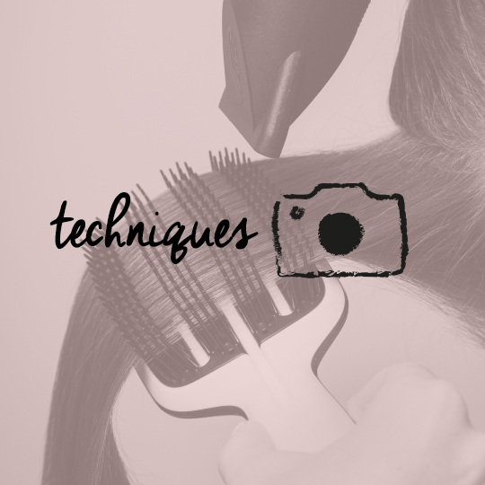 Step by step using The Blow-Styling Smoothing Tool by Tangle Teezer