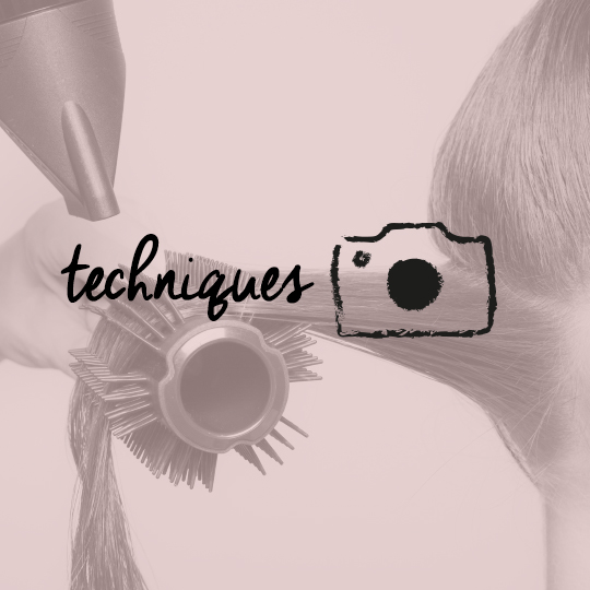 Step by step using The Blow-Styling Round Tool by Tangle Teezer