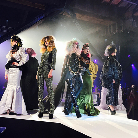Gold winners revealed at Goldwell's Color Zoom UK Final 2017