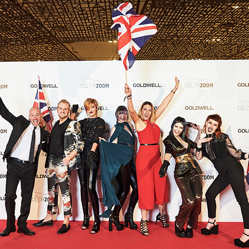 UK wins trophies at Goldwell's Color Zoom Final